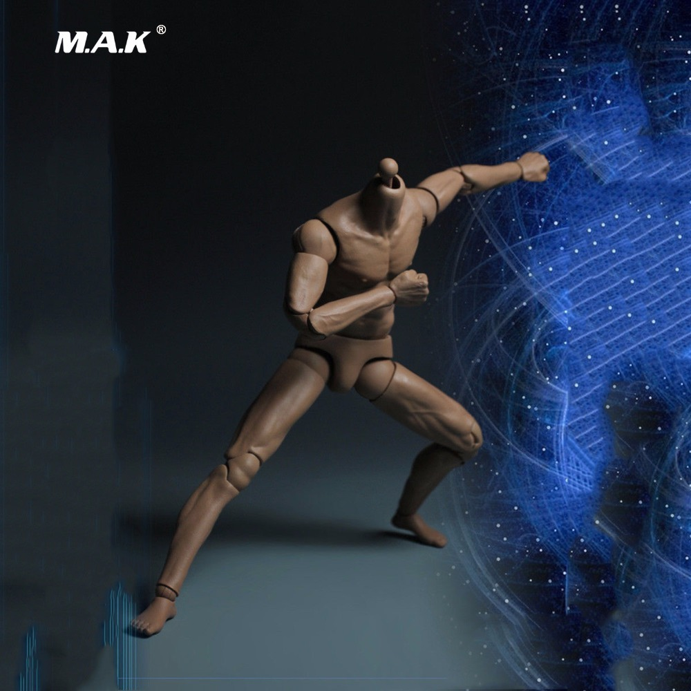 12 Inches Male Muscle Figure Body Double Joints for 1/6 Head<br>