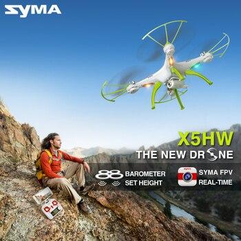 Date Syma Drone avec Caméra HD X5HW (X5SW Mise À Niveau) FPV 2.4G 4CH RC Hélicoptère Quadcopter, Dron Quadrocopter Jouet de fixe haute