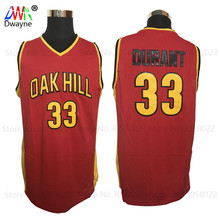 2017 Dwayne Men Cheap Basketball Jerseys Kevin Durant Jersey 33 Stitched Shirt Oak Hill High School Throwback Basket Jerseys