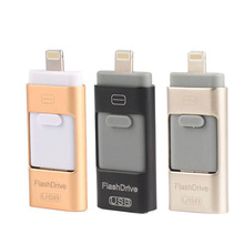 8GB 16GB 32GB 64GB 128GN For iPhone 6 6S Plus 5 5S iPad Android OTG Samsung HTC HUAWEI USB Thumb Drive Memory Stick U Flash Disk