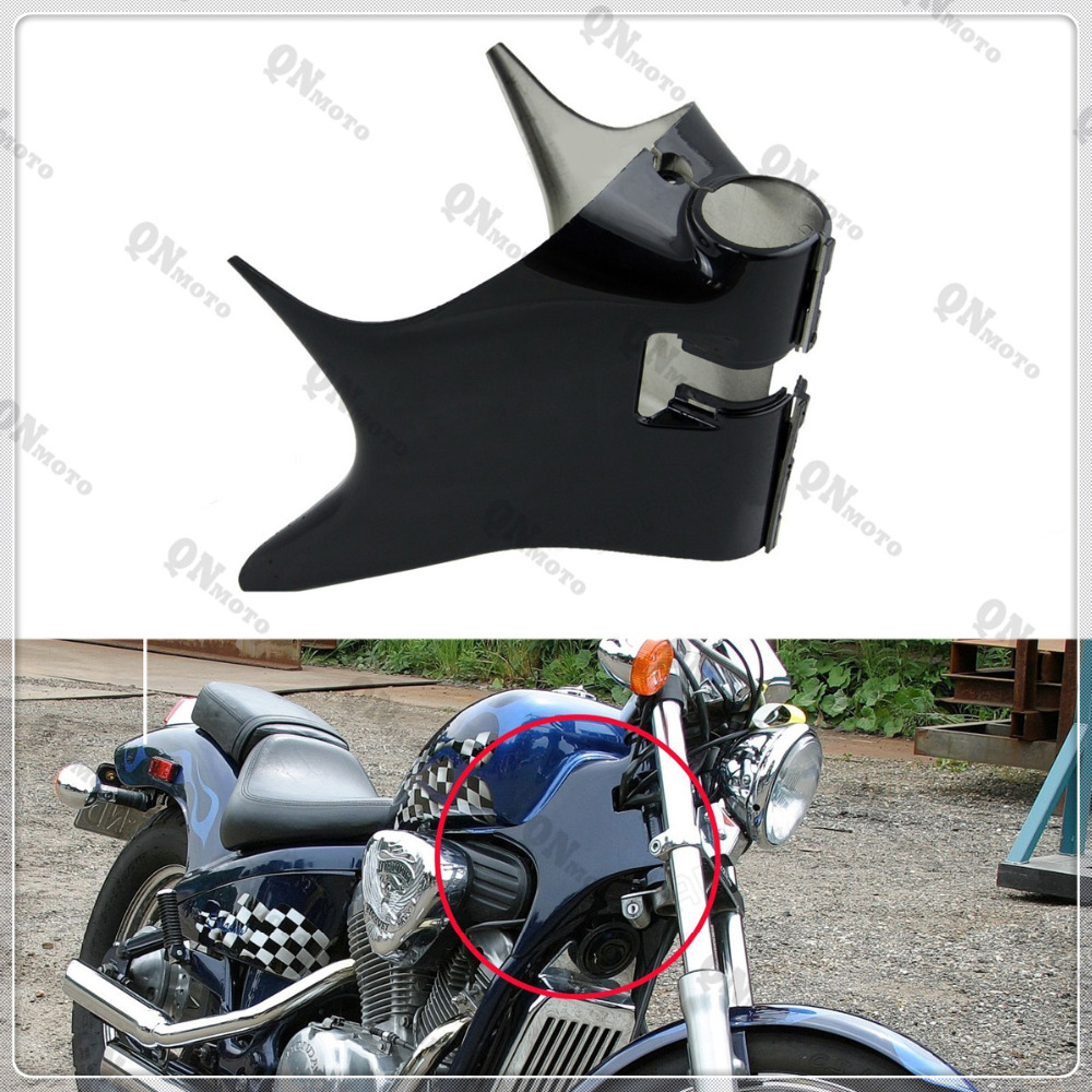 Motorcycle STEED400 Black Frame Neck Cover Cowl For H o n d a Shadow VT600 VT 600 VLX 600 STEED400 STEED 400 <br>