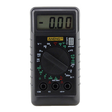 Mini Pocket DMM Digital Multimeter Voltmeter Ammeter OHM Voltage Current Tester Meter with Buzzer