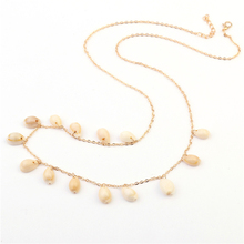 Sexy Belly Nature Shell Body Chain 1Pcs Waist Women Beach Jewelry Heat Sell Bikini