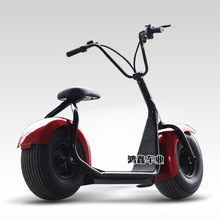 pk03/Harley electric car / Two Round scooters /wide tires Zuma electric bike / 60V lithium battery/ Storage battery car