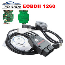 Top Selling FTDI FT232RL Green PCB Galletto 1260 ECU Flasher Programmer Supports Multi-Brand Cars Auto Car Diagnostic Interface(China)
