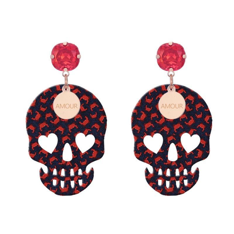 Earrings For Woman pendients drop Earrings 2018 summer now color (4)