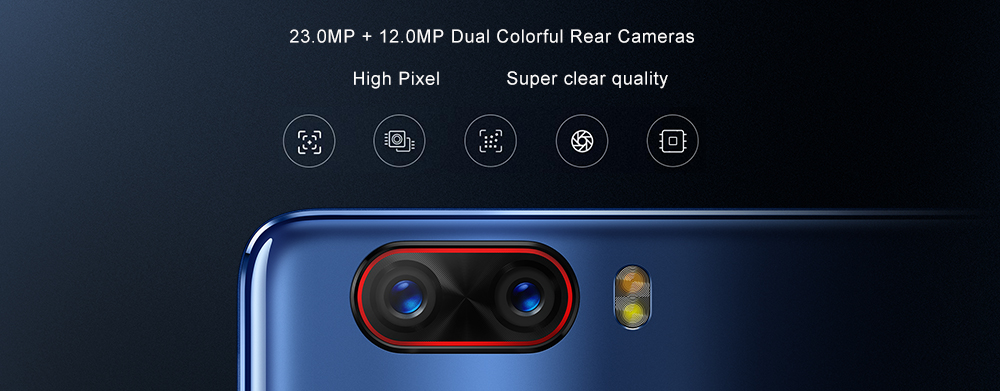 23.0MP +12.0MP rear cameras