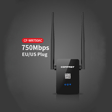 750Mbps dual band wireless router ac Signal amplifier wireless access point wifi hotspot wifi extender repeater COMFAST WR750AC