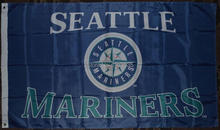 Brand New Seattle Mariners Premium Team Baseball Custom Flag 3' x 5' Banner brass metal holes Flag