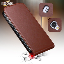 KISSCASE S4 Mini Luxury Retro Leather Case For Samsung Galaxy S4 Mini I9190 S4 I9500 Flip Mobile Phone Cover Accessories Cover