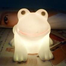 Creative Frog LED Night Light Colorful Gradient LED Light Party Bedroom Home Decor