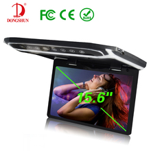Car Bus 15.6 inch Roof Mounted LCD Monitor Flip Down LCD Monitor for Car DVD 3-Color