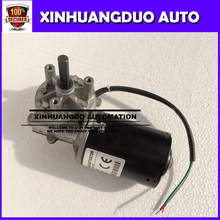 100RPM GW6280 dc 24 v 3.5N.m 4 A low speed high torque worm gear reducer motor, wiper, barbecue grill motor - right