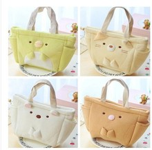 Plush toy 1pc 30cm SAN-X little bear dog home outdoor lunch bag stuffed toy creative gift for baby