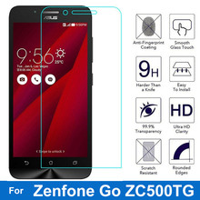 Premium Tempered Glass Film for Asus ZenFone Go ZC500TG Screen Protector for Asus 500TG Dual Sim 5.0 Protective Film