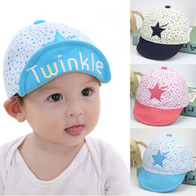Double side print cute baby cap baby newborn photography hat for girls and boys unisex hats baby baseball cap(China)