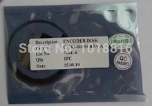 Free shipping New-Compatible - Encoder disk assembly - C7769-60254 C7769-60065 DesignJet 500 800 plotter parts(China)