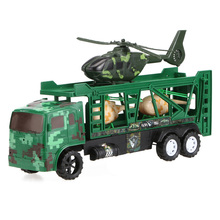 Mini Cool Military Equipment Models Toy Fight Car with Flight Military Vehicles Truck Model Children's Boys Toys Mini Table Toy
