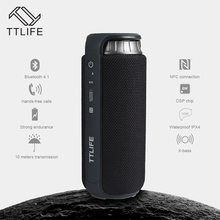 TTLIFE M3 Touch Wireless Speaker Bluetooth 4.1 AUX 4000mAh NFC Waterproof IPX4 24W Super Bass Stereo 80dB Portable Loudspeaker