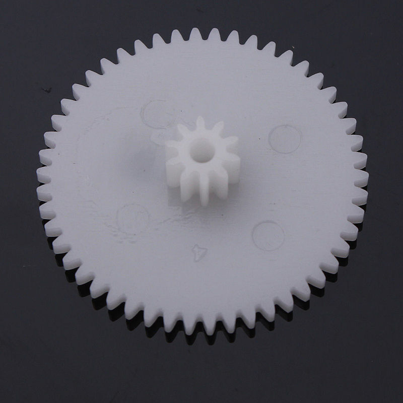 64 Styles Plastic Shaft Single Double Layer Crown Worm Gears Cog Wheels M0.5 for Toys Robot DIY Assortment Kit