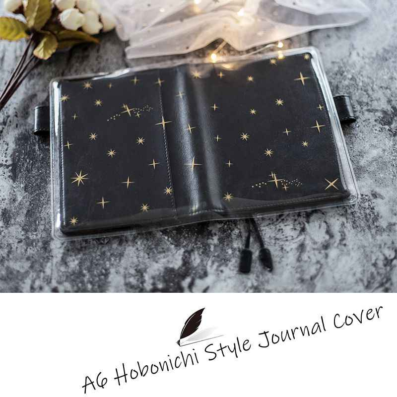 Shining In The Darkness A6 Hobonichi Style Journal Cover Suit For Standard A6 Fitted Paper Book