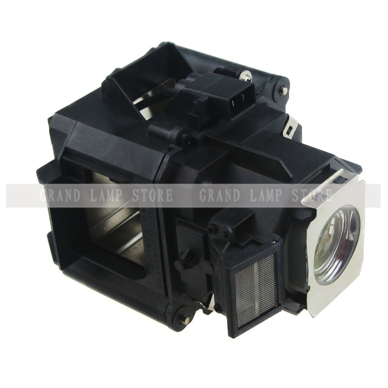 Compatible Lamp ELPLP62 H346A/H351A for EPSON PowerLite 4100/PowerLite Pro G5450WU/G5550 /EB-G5450W With Housing Happybate<br>