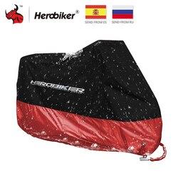 HEROBIKER моторы, покрышки для мотоциклов, пылезащитный водонепроницаемый, для улицы, для помещений, для дождя, УФ-защита, покрытие для велосипед...