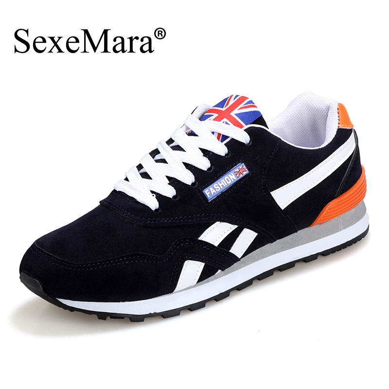 SexeMara Brand 2017 Autumn New Canvas Espadrille Men Casual Shoes Lace-up Massage Flat Forrsest Gump Breathable Massage Shoes<br><br>Aliexpress