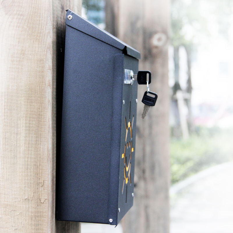 Lockable Smile Sunshine mailbox (13)