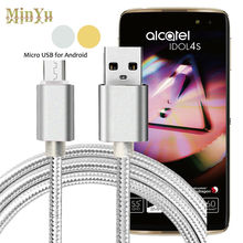 Micro USBData Sync & Fast Charge Cable for BlackBerry DTEK50 /Alcatel Idol 4s 4 /Pixi 4 3 /Pop 4s 4+ 2 /Plus 10 /Elevate /Hero2+