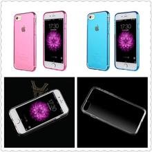 For iPhone 7plus TPU Case Ultrathin shockproof Clear Soft Sillicone Case for iphone 6 7 7 plus Transparent Phone Cover case
