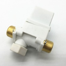 Solar Heater Solenoid Valve Normally Closed DC12V With Check Function Filter  0.02-0.8MPA