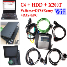 Top Rated For Mercedes Benz MB STAR C4 SD Connect with Software 2017.09 Vediamo In 320gHDD Star Diagnosis Tool With X200T Laptop