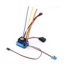 Brushed 120A ESC 120a Sensored Brushless Speed Controller for 1/8 1/10 Car/Truck Crawler