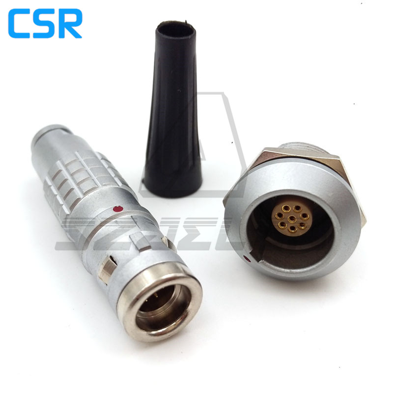 waterproof  connectors 8pins FGG.1K.308.CLAD/EGG.1K.308.CLL, Push-pull self-locking connector plugs and sockets 8pins<br><br>Aliexpress