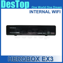 2016 Newest hero box ex3 HD DVB-S2/T2/C Tuner 751MHZ MIPS Processor 256MB Flash/512MB DDR3 herobox ex3 hd wifi