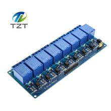 1PCS/LOT 5V 8-Channel Relay Module Board for Arduino PIC AVR MCU DSP ARM Electronic Best price 8 Channel Relay Module(China)