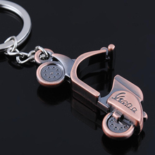 2016 Fashion Men New Creative Motorcycle Scooter Car Key Ring Pendant Keychain Unisex Gift