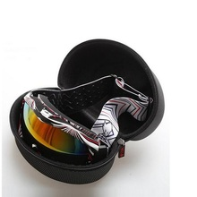 Outdoor Skiing Glasses Box Sport Snowboard Glasses Container Case Shockproof Ski Goggles Box Large Size Zipper Boxes NO Goggles(China)