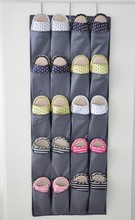 Over the Door hanging storage bag shoe organizer with 20 compartments, Free shipping, low price