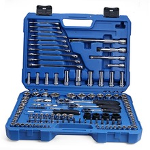Free Shipping Valianto Auto Mechanics Repair Tool Kit, 120 Pcs metalworking hand tools combination