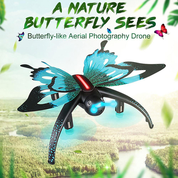 JJRC H42WH Butterfly WIFI FPV RC Quadcopter with Voice Control Altitude Hold Mode RTF