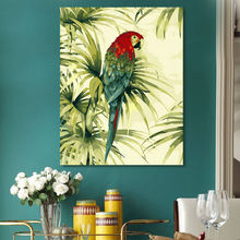 diy digital painting  Parrot  digital paint by numbers  modular painting   coloring by numbers  drawing practice