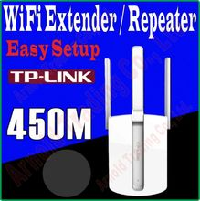 3 Antenna TP-LINK 450Mbps WiFi Wireless Extender Repeater Booster AP Enhancement Mobile WiFi Hotspot WiFi signal amplifier