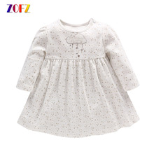 Buy ZOFZ NewBorn Baby Dress 2017 Summer Princess baby girl dress Cute Star Print Baby Girls Clothes casual knee length baby Clothing for $11.00 in AliExpress store