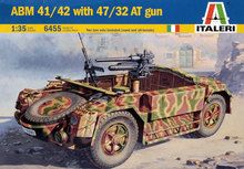 Out of print! Italeri Model kit #6455 1/35 ABM 41/42 WITH 47/32 AT GUN