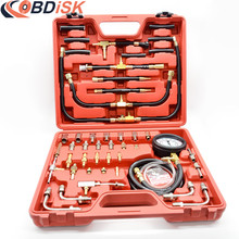 Fuel Pressure Tester Kit Master Fuel Injection Pressure Test Tool TU-443 TU443 fuel manometer vehicle fuel pressure gauge(China)