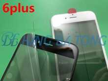 100pcs Original Cold Press Replacement LCD Front Touch Screen Glass Outer Lens with frame OCA+Polarized film for iphone 6 6plus