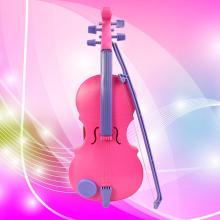 kids Simulation Violin Toy For Boy girls Educational Creative Gift Toy For Boy girls Led Violin Musical Toy For Boy girls(China)