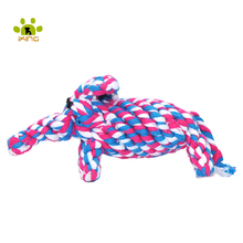 New Puppy Chew Toys Cotton Knot Rope Funny Animal Puppy Toys for Dogs Toys And Cats Dog Training Toy Shipping Hot
